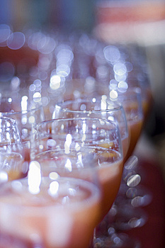 Fruit Cocktail Glasses Royalty Free Stock Photography - Image: 6671547