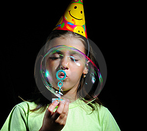 Soap Bubbles Stock Image - Image: 6672541