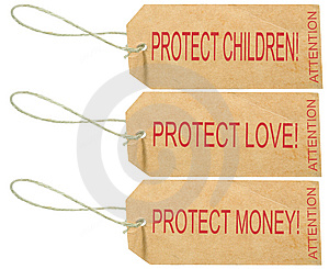 PROTECT LOVE Royalty Free Stock Photography - Image: 6673117