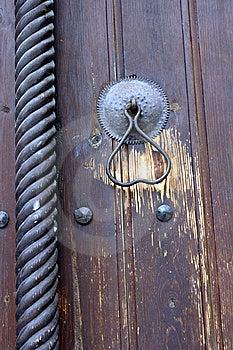 Church Door Detail Stock Image - Image: 6673931