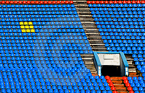 Sport Stadium Background Royalty Free Stock Images - Image: 6674399