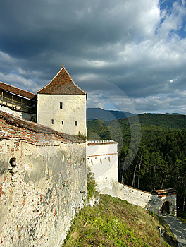 Rasnov Fortress In Transylvania (Romania) Stock Photography - Image: 6675032