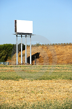 Blank Billboard Royalty Free Stock Images - Image: 6675259
