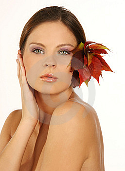 Close-up Portrait Of Beautiful Woman With Professi Royalty Free Stock Photography - Image: 6675437