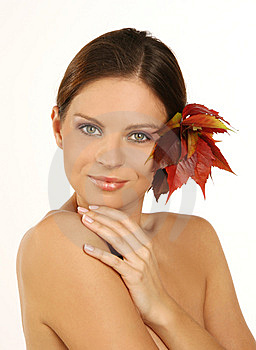 Close-up Portrait Of Beautiful Woman With Professi Royalty Free Stock Images - Image: 6675439