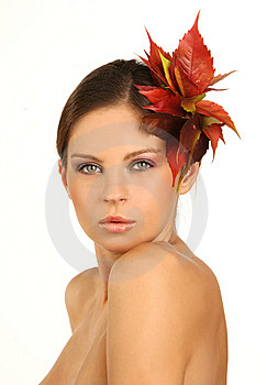 Close-up Portrait Of Beautiful Woman With Professi Stock Photography - Image: 6675442