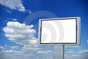 Billboard Royalty Free Stock Image - Image: 6676166