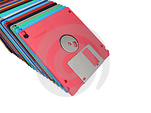 Old Diskettes Royalty Free Stock Images - Image: 6678819
