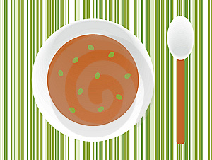 Plate Of Soup Royalty Free Stock Images - Image: 6681639