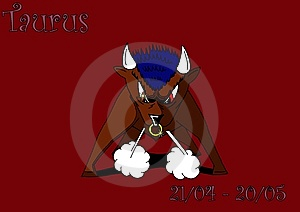 Taurus Royalty Free Stock Images - Image: 6682229