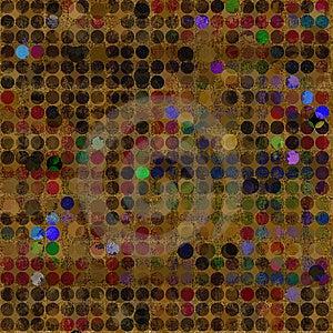 Aged, Grungy Dots Royalty Free Stock Photo - Image: 6685065