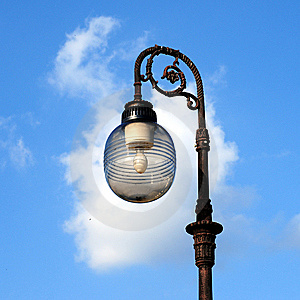 Ornate Street Lamps Royalty Free Stock Image - Image: 6685726