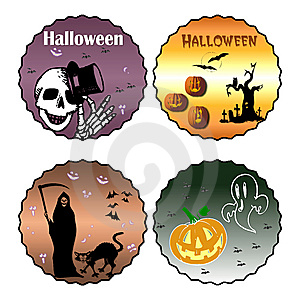 Halloween Clip Art Royalty Free Stock Images - Image: 6688169