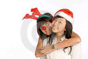 Girl Friends Hug Royalty Free Stock Images - Image: 6689419