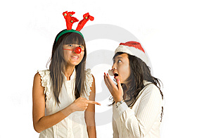 Girl Friends Conversation Stock Photography - Image: 6689422