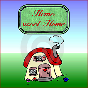 Home sweet home Free Stock Image