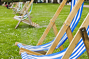 Vacant Deck Chairs Stock Photo - Image: 6690310