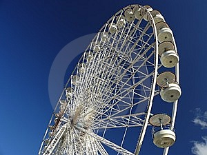 Ferris Wheel In Paris Stock Photos - Image: 6691483