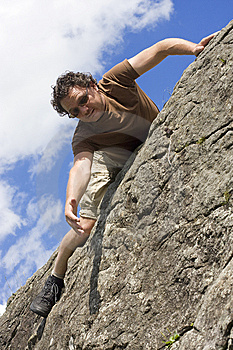 Reaching The Top Stock Photos - Image: 6694373