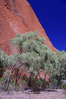 Corner Of Uluru Stock Photography - Image: 6695202