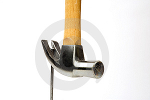 Remove A Nail Stock Photo - Image: 672200