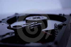 Hard Drive Details Royalty Free Stock Image - Image: 679146