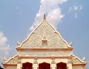Thai Architecture 02 Royalty Free Stock Photography - Image: 679917