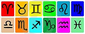 Zodiac Icon Set Stock Images - Image: 6700314