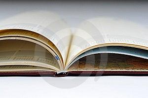 Blank, Opened Agenda Royalty Free Stock Image - Image: 6701356