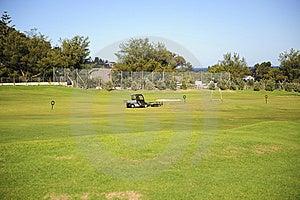 Golf Driving Range Royalty Free Stock Image - Image: 6701966