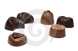 Chocolate Candies Royalty Free Stock Photography - Image: 6702887