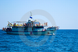 Promenade Motor Ships Stock Photos - Image: 6704133