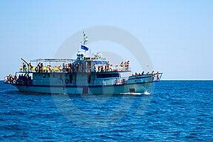 Promenade Motor Ships Stock Photos - Image: 6704133