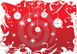 Christmas background A.cdr Stock Photos