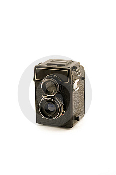 Retro Medium Format Camera Royalty Free Stock Images - Image: 6713429