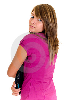 Teenager Schoolgirl Royalty Free Stock Photo - Image: 6715605