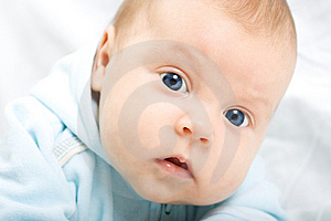 Little Baby Looking At Camera. Royalty Free Stock Photography - Image: 6716707