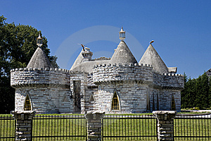 Castle With Turrets Stock Photos - Image: 6720183