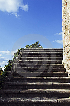 Granite Stairway Royalty Free Stock Photos - Image: 6721348