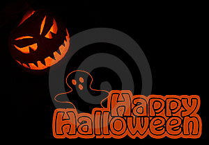 Jack-o'-lantern Illustration 4 Stock Images - Image: 6722104