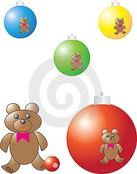 Christmas Color Balls Stock Image - Image: 6722551