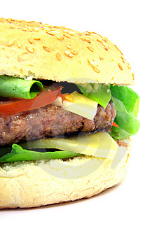 Hamburger Close-up 2 Stock Images - Image: 6723214