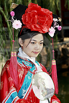 Classical Beauty In China. Royalty Free Stock Photo - Image: 6724385
