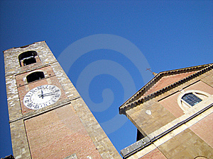Bell Tower Of The Cathedral Royalty Free Stock Photo - Image: 6724455