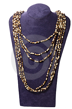 Necklace Royalty Free Stock Photo - Image: 6727425