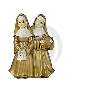 Singing Happy Nuns Stock Photos - Image: 6727603