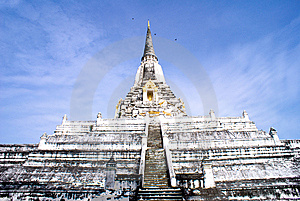 Religious Thai Monument Royalty Free Stock Images - Image: 6730019