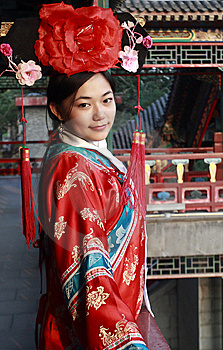Classical Beauty In China. Stock Image - Image: 6730251