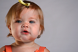 Little Girl Checks Out The World Stock Images - Image: 6731404