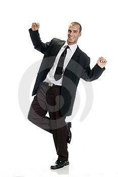 Happy Successful Man Stock Photos - Image: 6732813